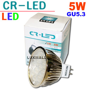 (CR-LED) LED MR16 5W (12V)