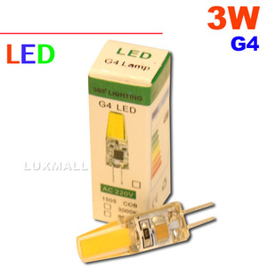 (OEM) LED JC PIN 3W COB타입 220V용